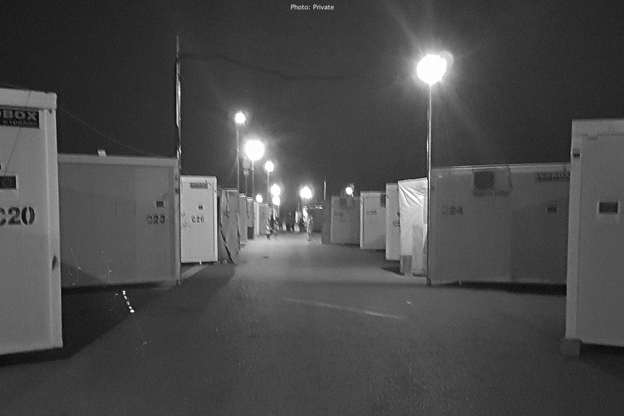 Nea Kavala camp - R S A