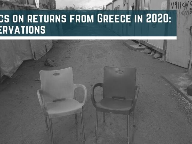 Statistics on returns from Greece in 2020 Key observations