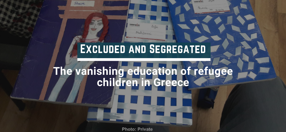 202104 rsa coverThe vanishing education of refugee children in Greece