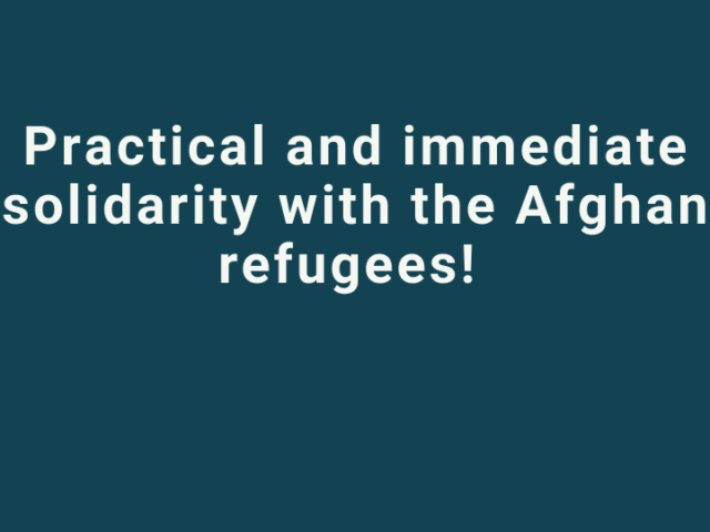 rsa cover en Practical and immediate solidarity with the Afghan refugees