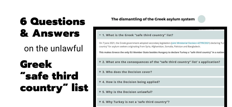 202109 rsa 6 Q&A on the unlawful Greek safe third country list